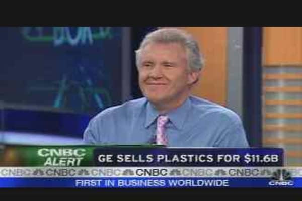 GE Plastics Deal, Pt. 1