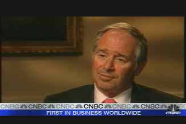 China Invests in Blackstone Group