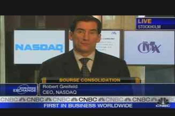 Nasdaq CEO on OMX Merger