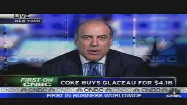 Coke Buys Glaceau