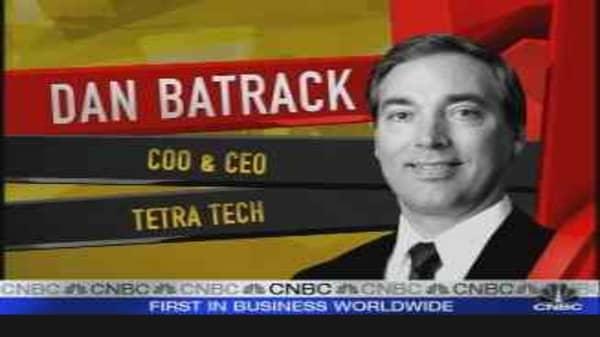 Tetra Tech CEO