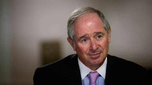 Stephen Schwartzman, CEO Blackstone Group