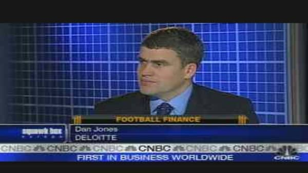 U.K. Football Players Earn on TV Deal