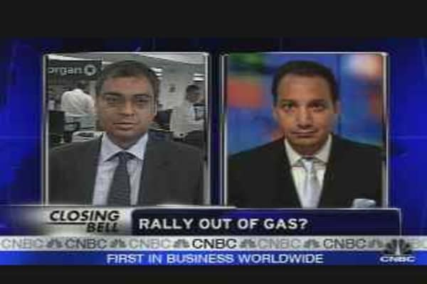 Market Rally Out of Gas?