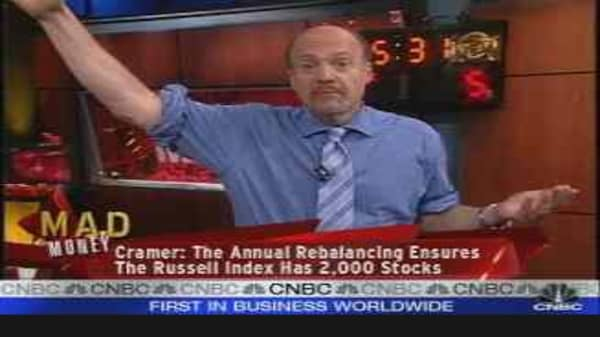 Russell Rebalance (pt.1)