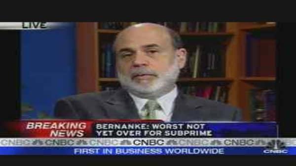 Bernanke Speaks