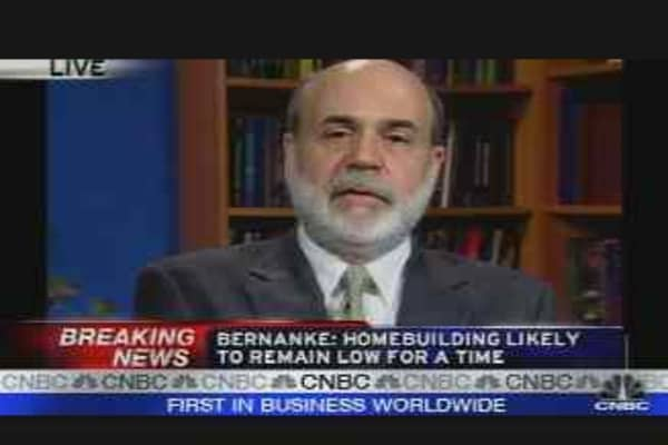 Bernanke Speaks Pt. 2