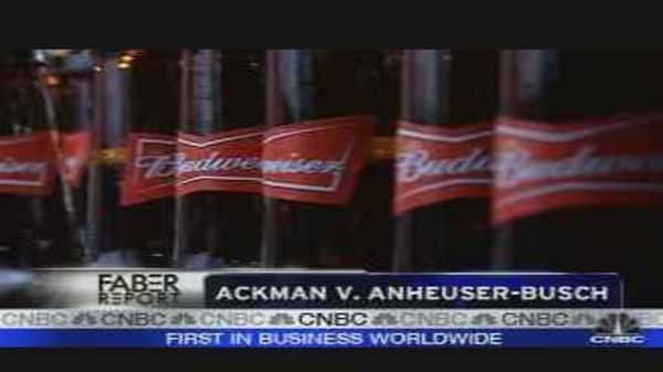 Ackman vs. Anheuser-Busch