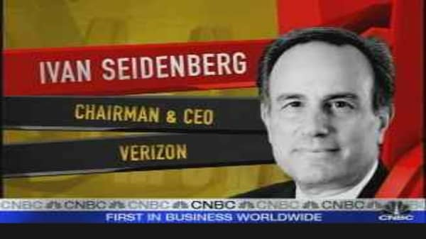 Verizon CEO Speaks