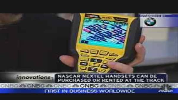 Innovations: Personalized NASCAR