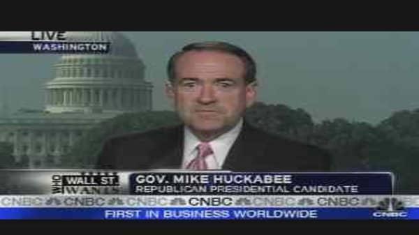 Huckabee Makes His Case