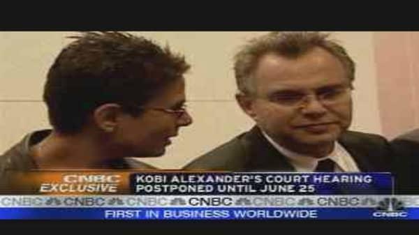 Kobi Goes to Court