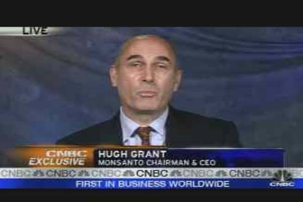 Monsanto CEO on Drought