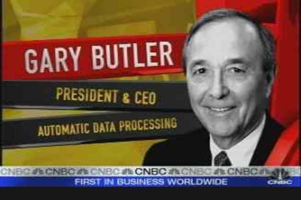 Gary Butler, ADP