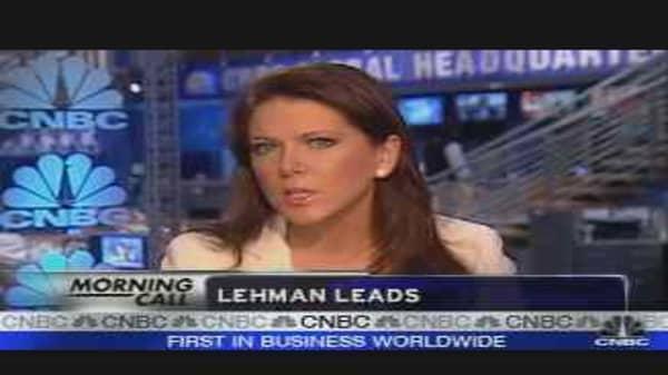 Lehman Earnings