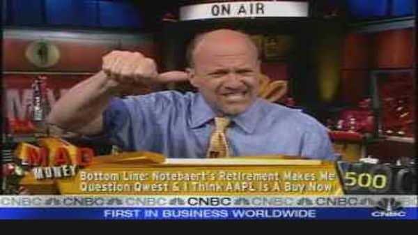 Cramer Answers Calls