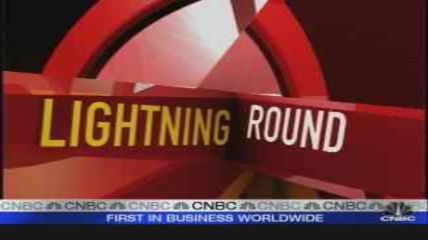 Family Lightning Round