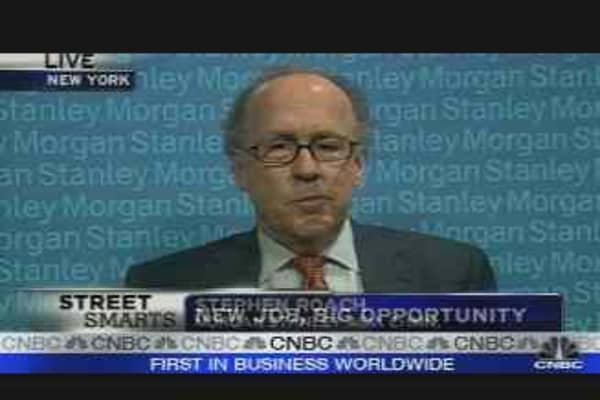 Morgan Stanley's New Head of Asia