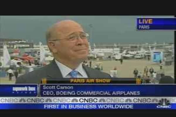 Paris Air Show: Boeing