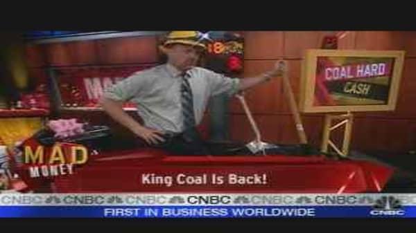 Cramer on Coal