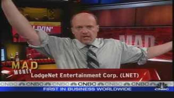 Cramer on Lodgenet