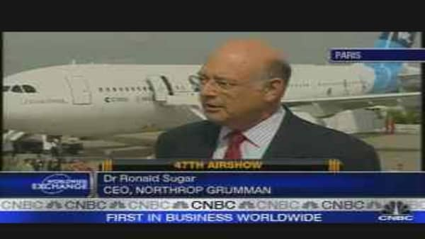 Paris Air Show: Northrop Grumman