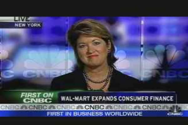 Wal-Mart Enters Consumer Finance
