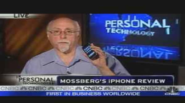 Personal Technology: iPhone