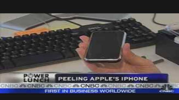 Peeling Apple's iPhone