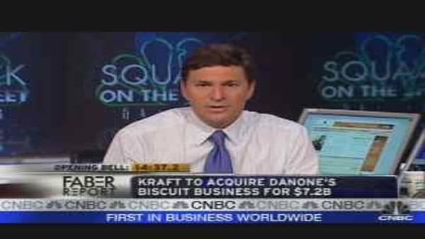 Faber Report: Kraft/Danone Deal