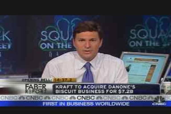 Faber Report: Kraft/Danone Deal