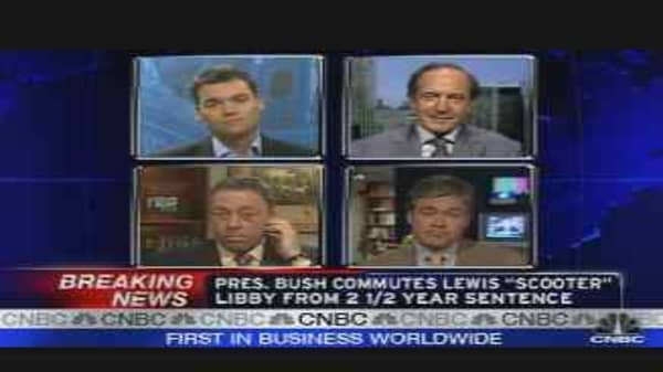 Bush Commutes Libby Sentence