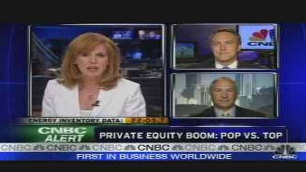 Private Equity: Reached a Top?