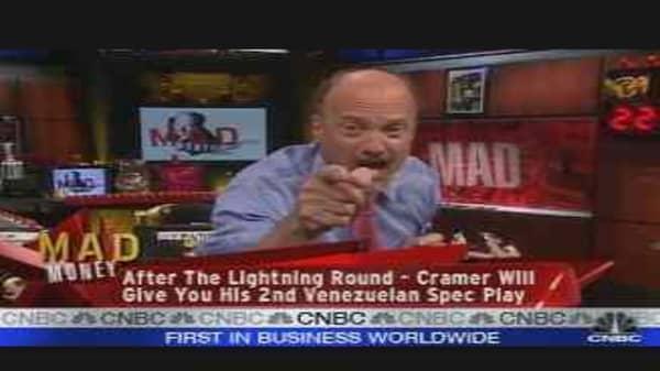 Cramer on Venezuela, Pt. 1