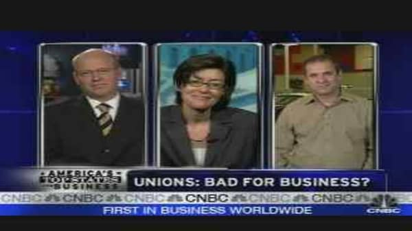 Unions: Bad for Biz?