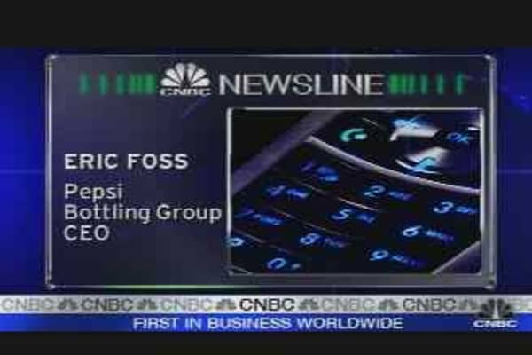 First on CNBC: Pepsi Earnings