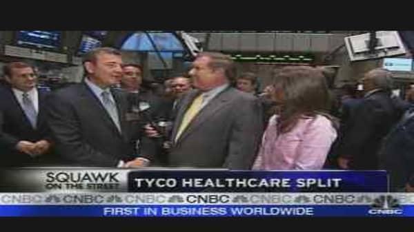 Tyco Healthcare Split