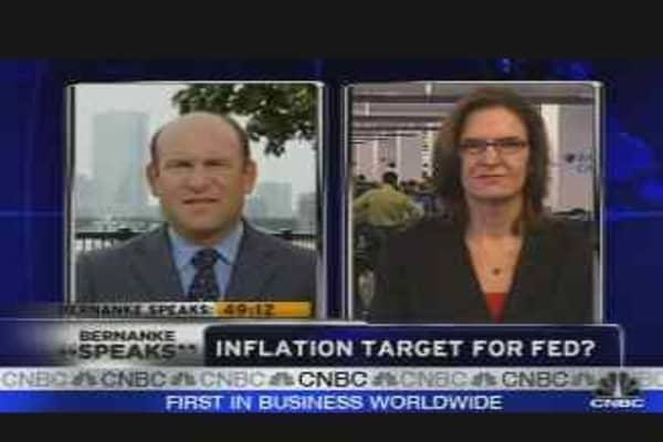 Bernanke's Inflation Target