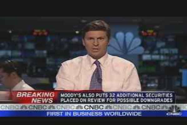 Moody's Downgrades