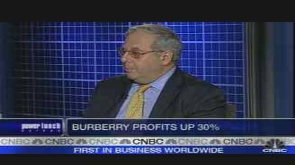 Burberry Posts 30% Profit Jump