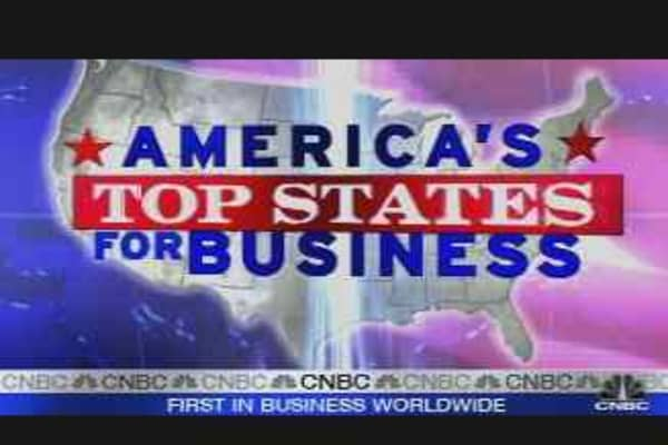 Top States for Business