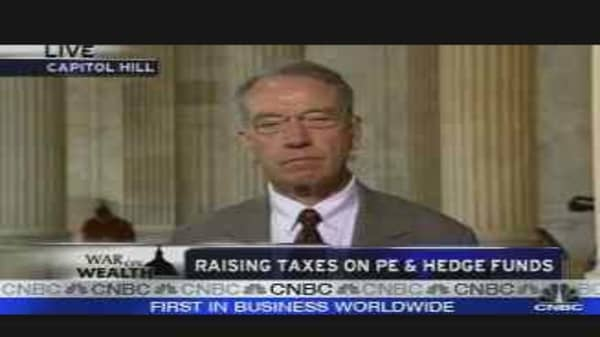 Congress Eyes Hedge Fund Risks