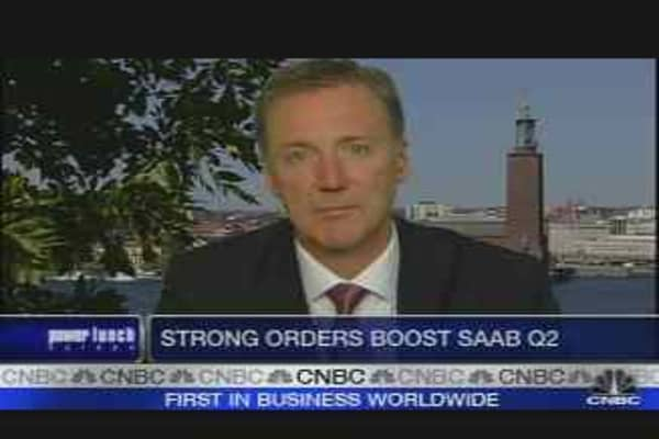 Saab CEO on Earnings
