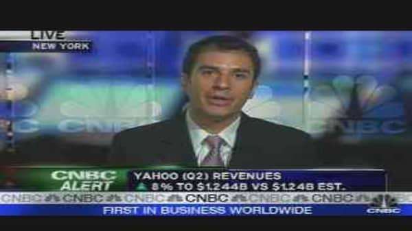Yahoo Earnings & Analysis