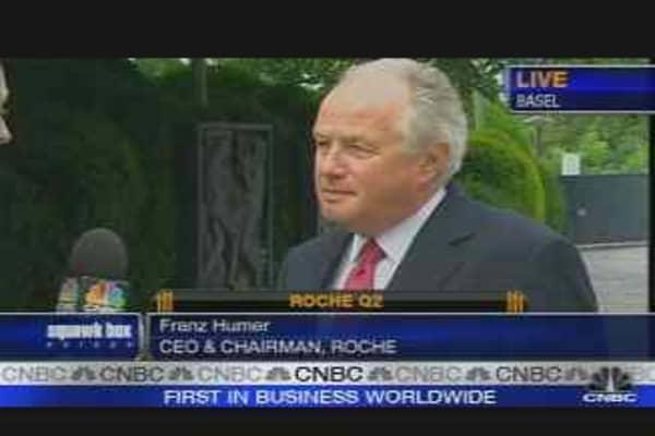 Roche CEO on Earnings