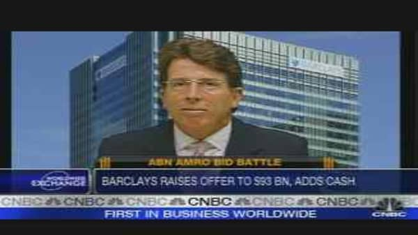 Barclays' Diamond on ABN Deal