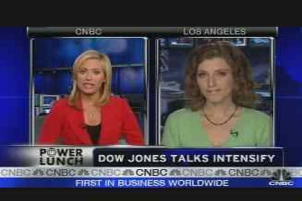 Dow Jones Talks Intensify