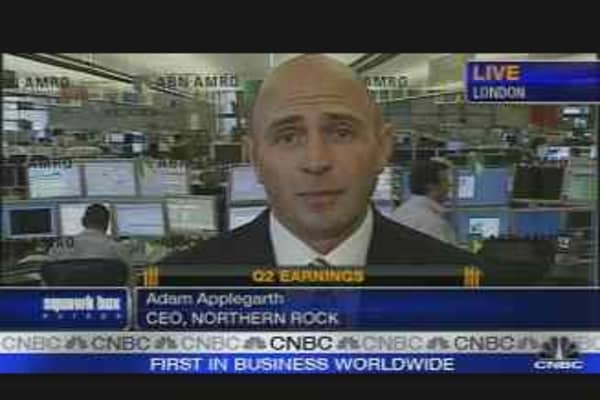 Northern Rock CEO on Warning