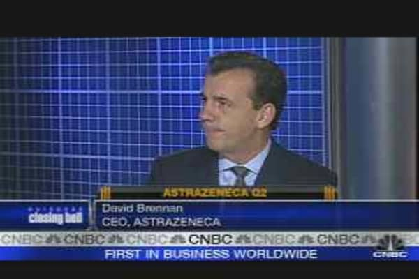 AstraZeneca CEO on Earnings and Outlook