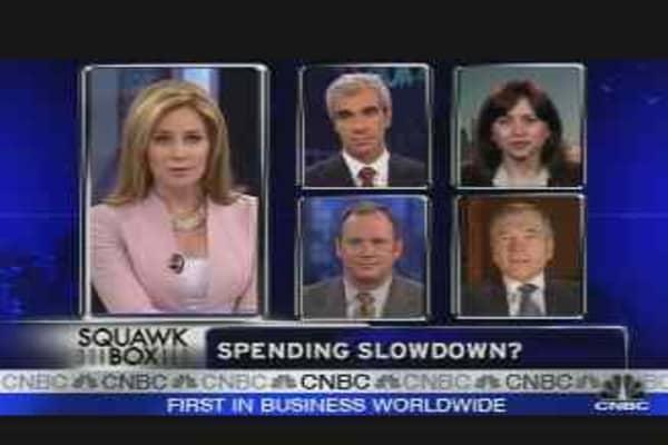Spending Slowdown?